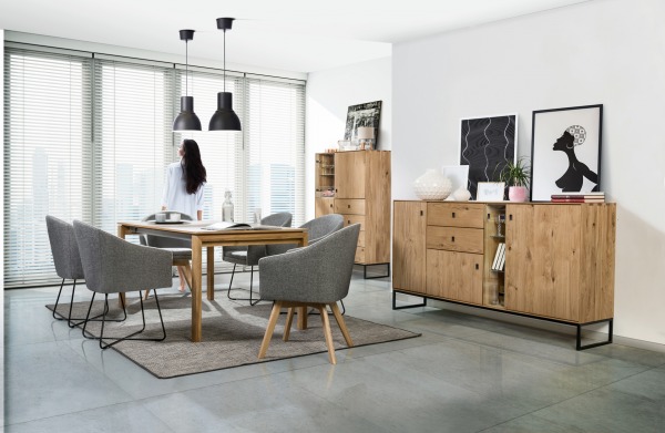 High- quality wooden furniture: highboards, sideboards, TV- units